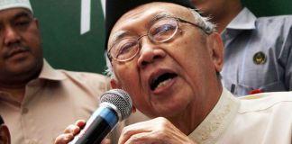 Pengasuh Pondok Pesantren Tebu Ireng Solahuddin Wahid