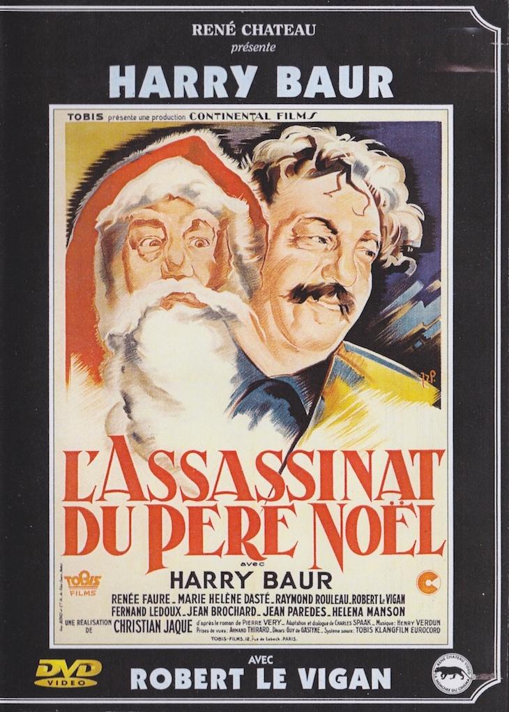 L Assassinat Du Père Noël : assassinat, père, noël, L'Assassinat, Père, Noël, Christian-Jaque, (avec, Harry, Baur,, Renée, Faure…)