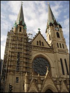 Marquette Gesu Church exterior