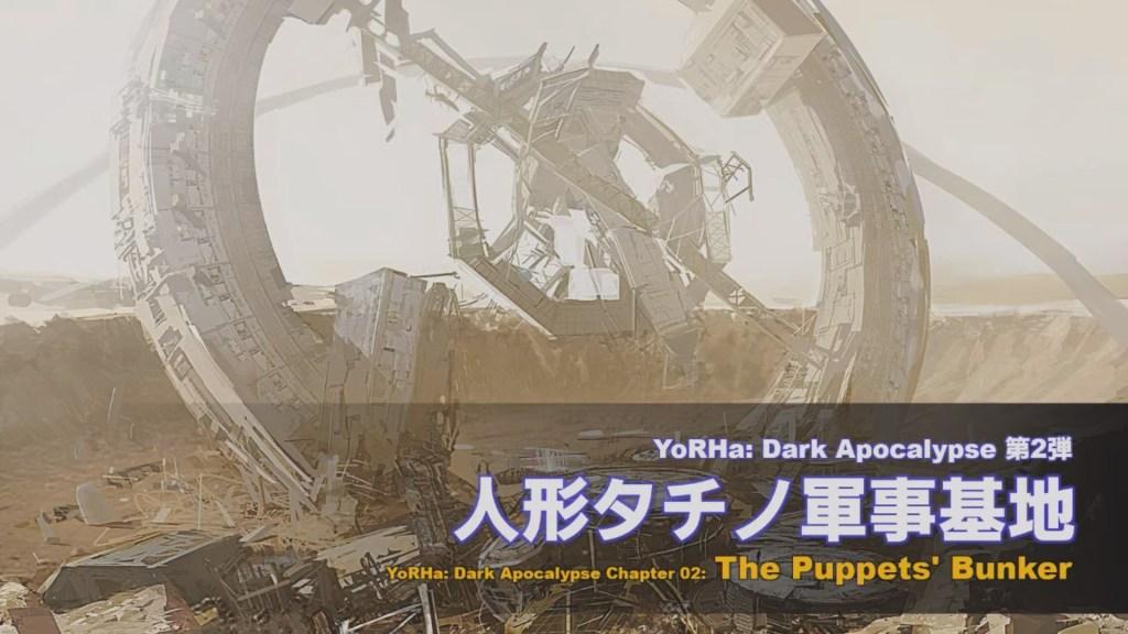 Illustration - Yorha Dark apocalypse