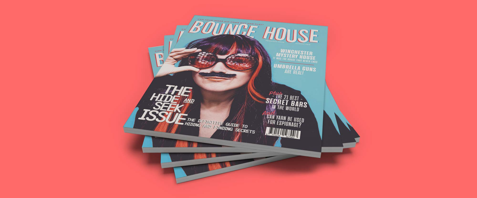 Stack of Bounce House issue 1