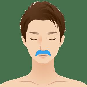 L face hanashita 2 - メンズの顔脱毛プラン