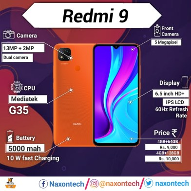 redmi 9 specifications