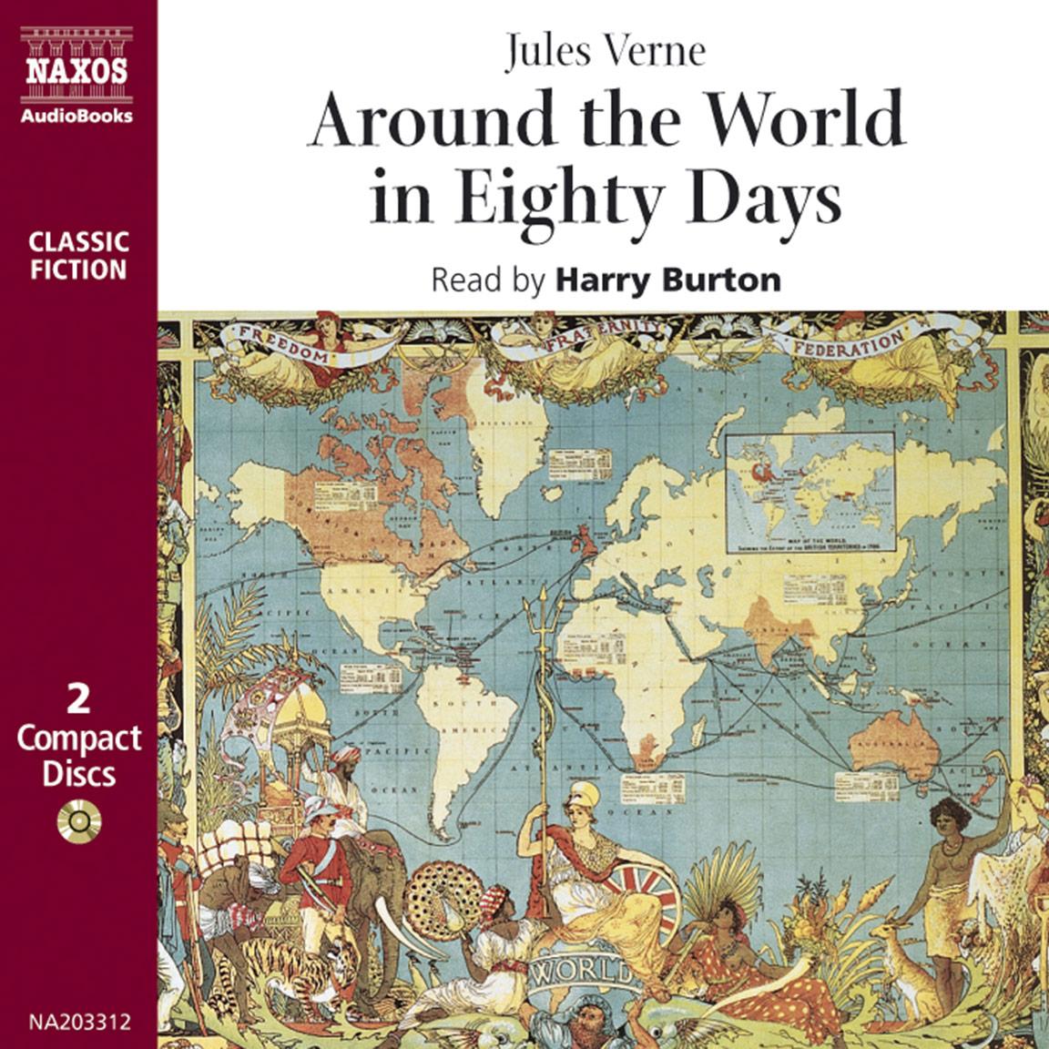 Around The World In Eighty Days Abridged Naxos Audiobooks