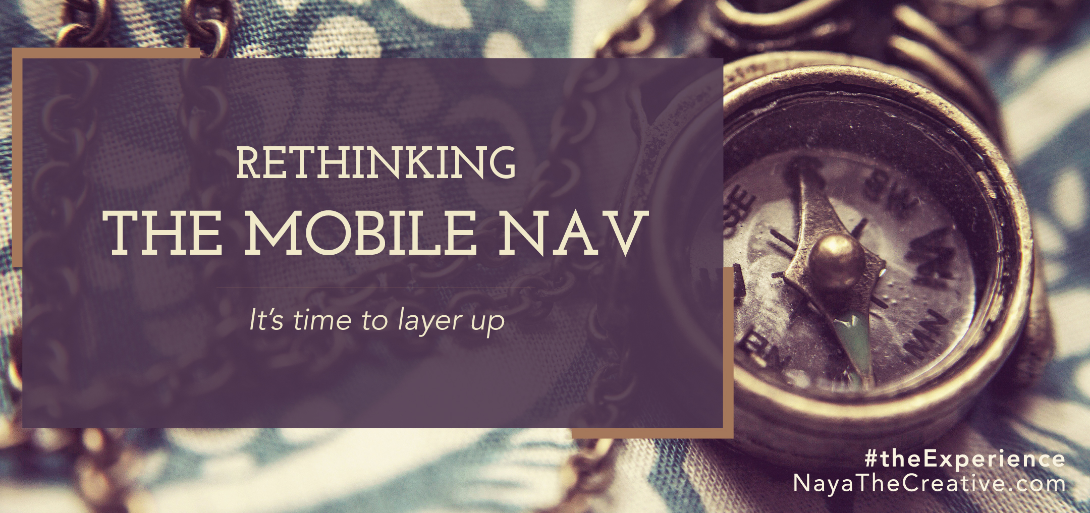 Rethinking the Mobile Nav