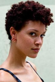 edgy tapered natural hair