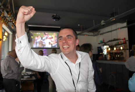 Celebrating England's Goal - John Osborn, Business Development Director at Crabtree Property Management