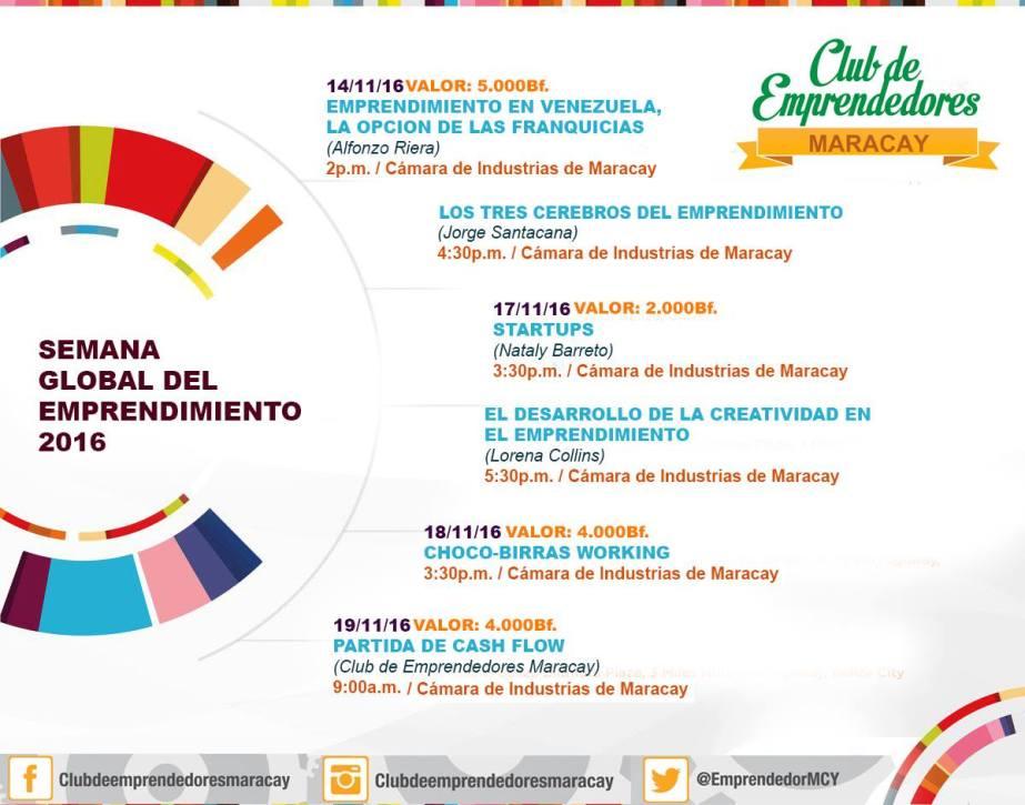 Semana Global del Emprendimiento Maracay 2016
