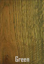 Dubová podlaha odstín Green