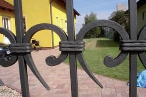Kované brány na zakázku