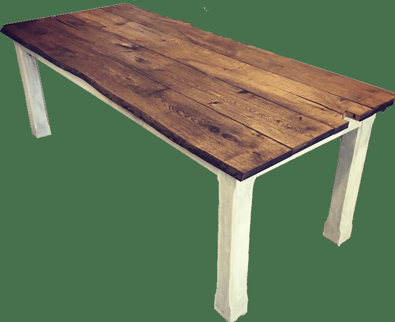 Dubový masivní rustikální stůl