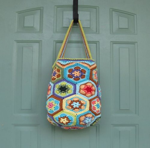 African-flowers-bag