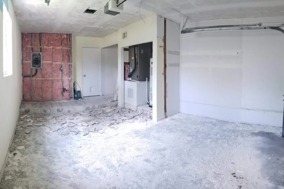 Garage Conversion Example