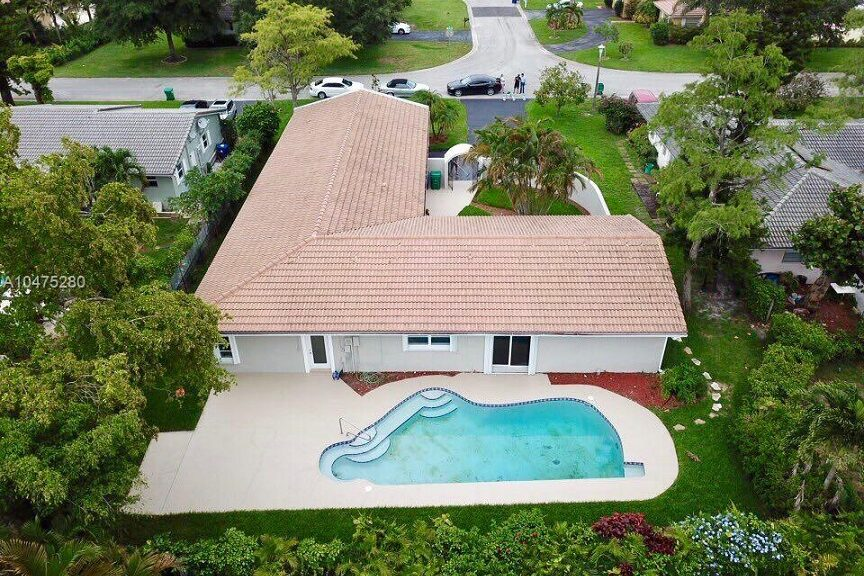 Complete Remodel Coral Springs Aerial View