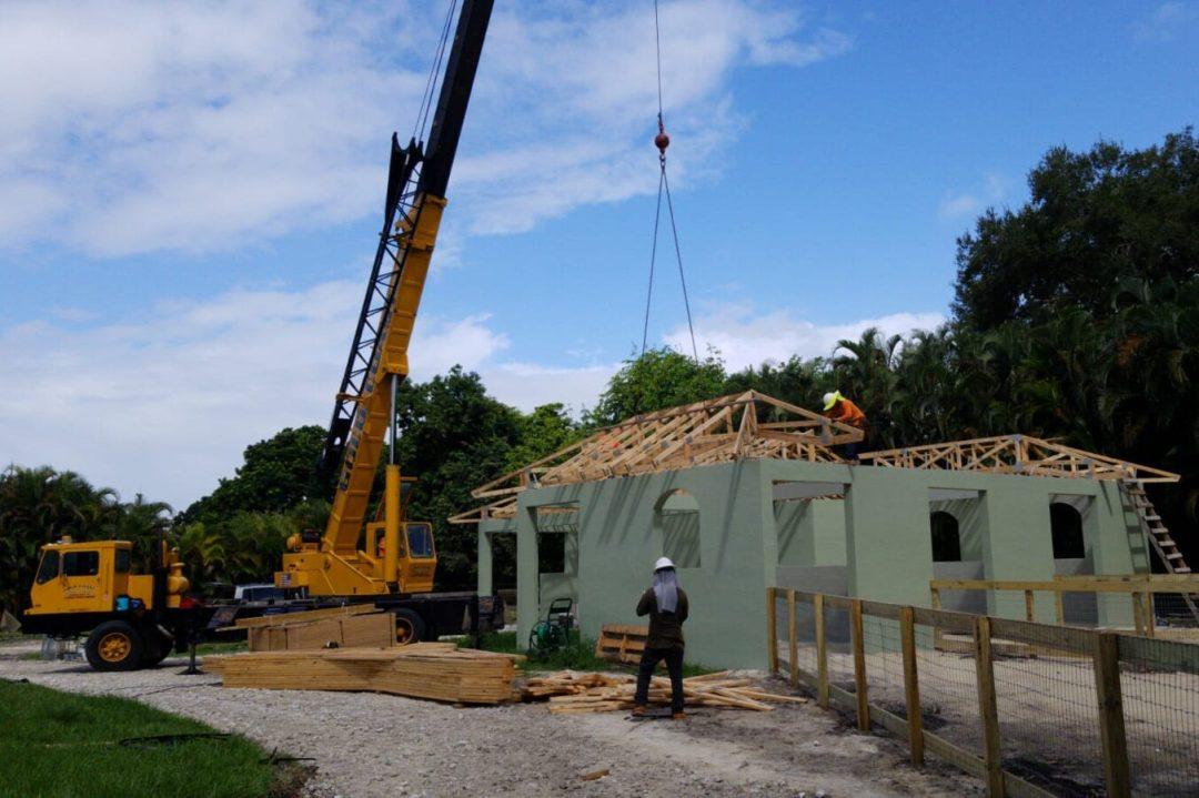 Barn Construction Process