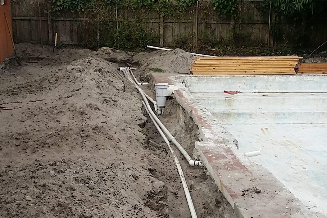 Pool Remodel Process Pembroke