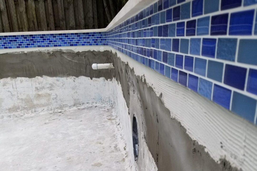 Pool Remodel Pembroke During