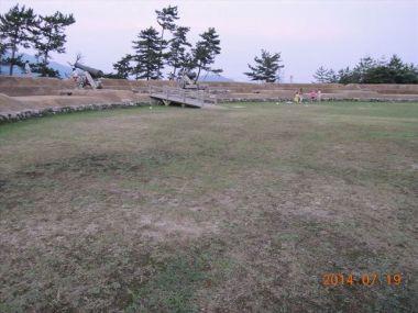 赤礁崎オートキャンプ場大砲の広場