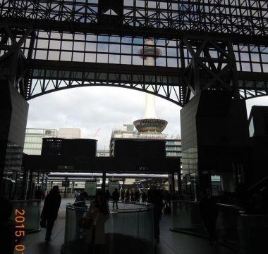 JR京都駅中央口出たところ