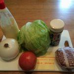 男の一人暮らし料理!コレで超簡単に野菜が摂れる!