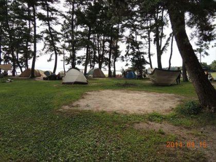 びわ湖こどもの国キャンプ場サイト2