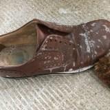 10革靴を洗う
