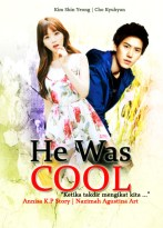 he was cool kim shin yeong happy romance cho kyuhyun super junior ketika takdir telah mengikat kita cover fanfic