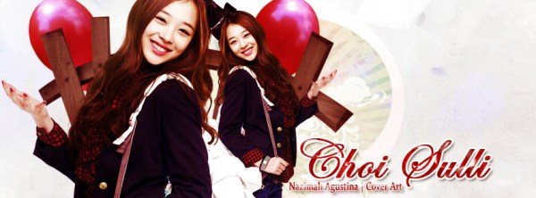 choi jinri sulli f(x) new cover zing timeline facebook by nazimah agustina
