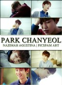 park chanyeol exo picspam art by nazimah agustina