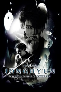 kim jonghyun dark light cover light debut solo shinee base 2015 by nazimah agustina