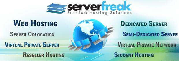ServerFreak Webhosting