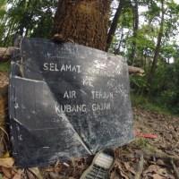 Kemensah Trail to Kubang Gajah Waterfall