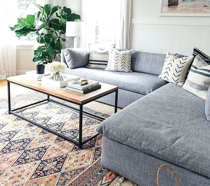 Area Rugs For Grey Couch Interior Decor  Grey Rugs For