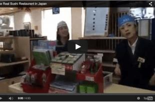 Bagaimana Restoran Sushi Sebenarnya di Jepang