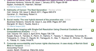 ScienceDirect TOP25 Hottest Articles 2014