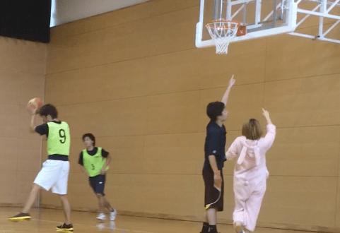 uniknya basket di jepang