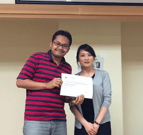 award seminar di Jepang