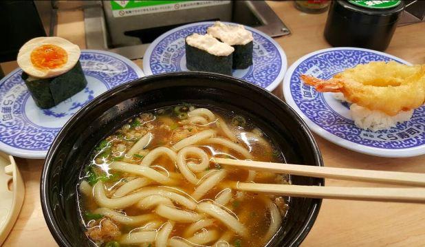 sushi udon