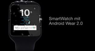 Menanti Sony Smartwatch 3 Bisa Menggunakan Android Wear 2.0