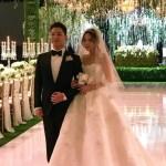 結婚式BIGBANG‐SOL&ミン・ヒョリン‐披露宴の写真を公開!!