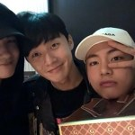 パク・ソジュン、防弾少年団 V&パク・ヒョンシクと仲良し友人旅行へ…写真公開