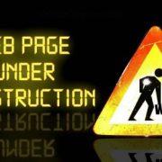 Hjemmesiden er underopbygning