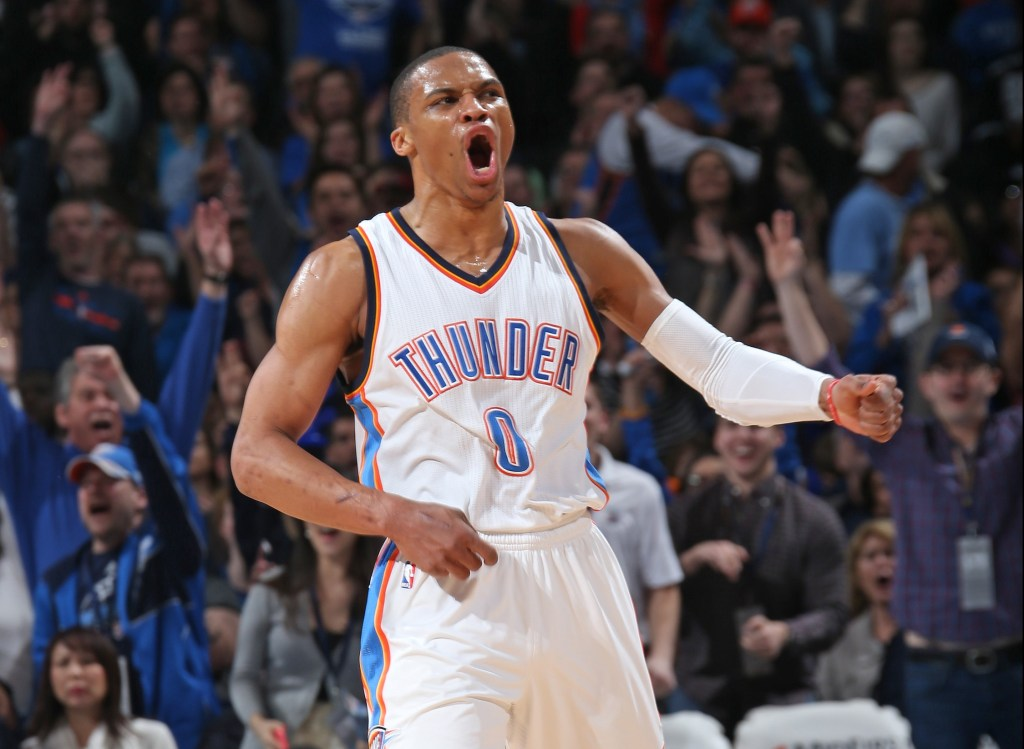 Brilliant impression of Russell Westbrook reactions/expressions (VIDEO) - ProBasketballTalk | NBC Sports