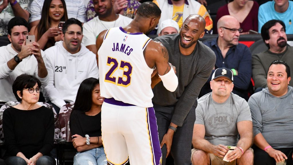 LeBron James and Kobe Bryant had grown closer in last couple months