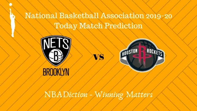 ntes vs rockets 02112019 - Nets vs Rockets NBA Today Match Prediction - 1st Nov 2019