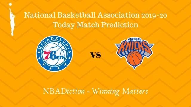 76ers vs knicks prediction 21112019 - 76ers vs Knicks NBA Today Match Prediction - 21st Nov 2019