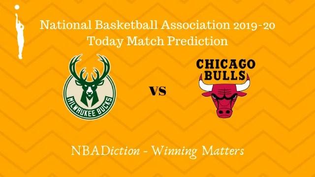 bucks vs bulls 15112019 - Bucks vs Bulls NBA Today Match Prediction - 15th Nov 2019