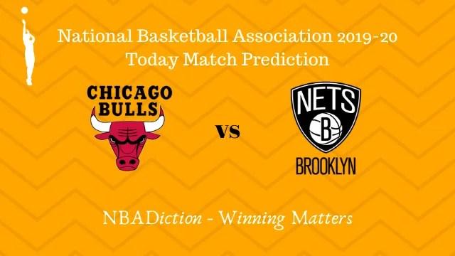 bulls vs nets 17112019 - Bulls vs Nets NBA Today Match Prediction - 16th Nov 2019
