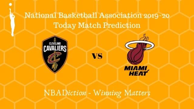 cavaliers vs heat 15112019 - Cavaliers vs Heat NBA Today Match Prediction - 14th Nov 2019