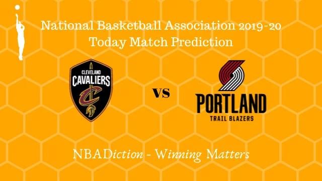 cavaliers vs trailblazers prediction 24112019 - Cavaliers vs Trailblazers NBA Today Match Prediction - 24th Nov 2019